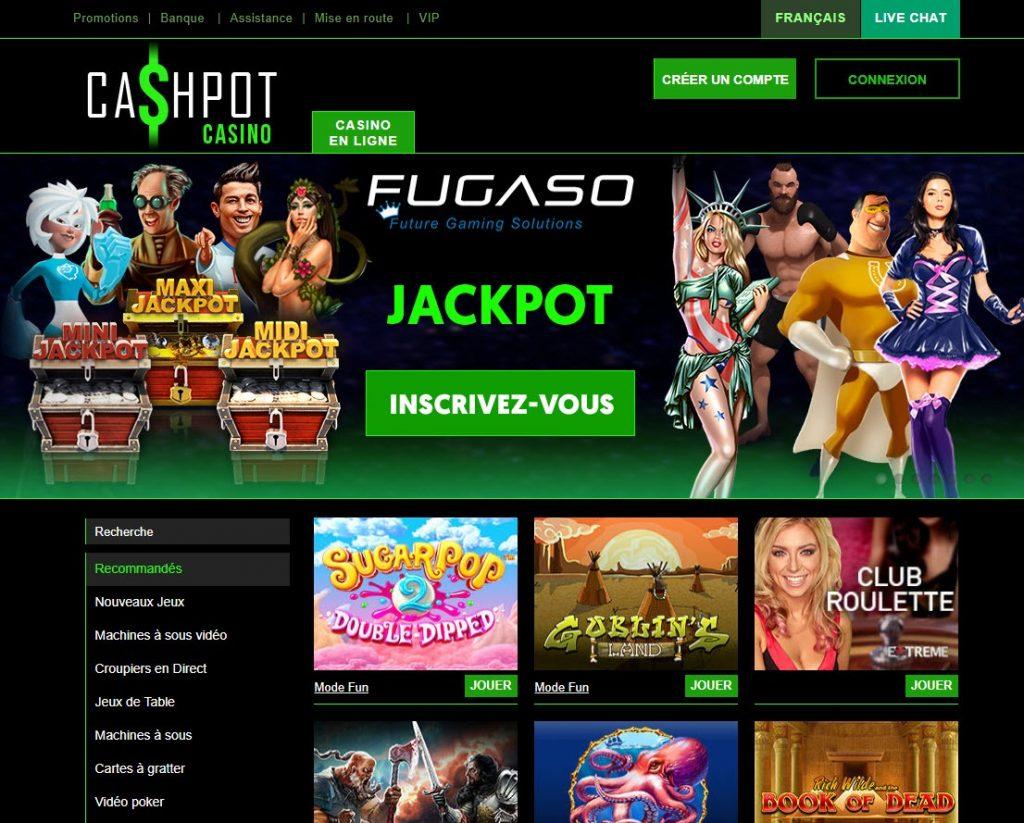 cashpot casino avis